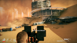 Spec Ops: The Line - At specific points in the game, sand can be used to kill enemies.