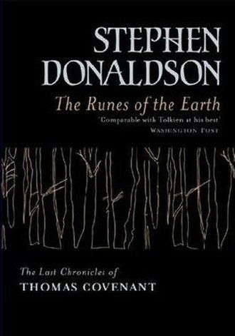 The Runes of the Earth - Cover to the First UK Edition