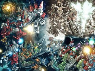 The Transformers (IDW Publishing) - Composite of Stormbringer covers drawn by Don Figueroa