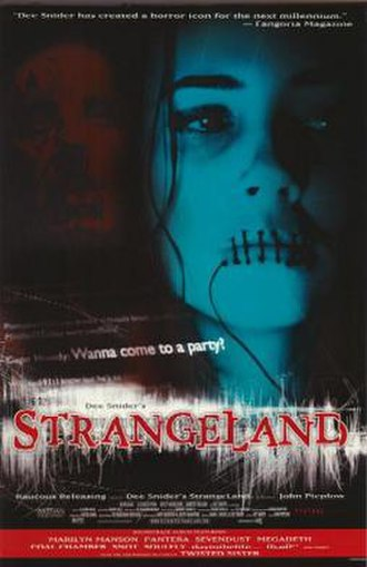 Strangeland (film) - Theatrical release poster