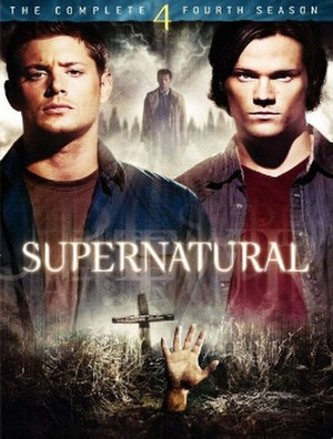 Supernatural (season 4) - DVD cover art
