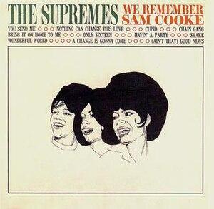 We Remember Sam Cooke - Image: Supremes Sam Cooke