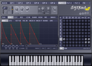 Sytrus - Old UI of Sytrus used before version 12.3 of FL Studio