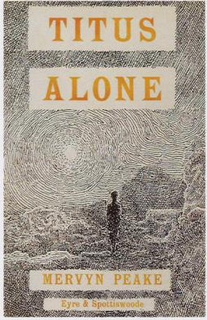Titus Alone - First 1959 edition cover