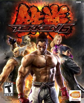 Tekken 6 - Image: Tekken 6 Box Art
