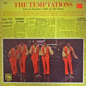 Live at London's Talk of the Town (The Temptations album) - Image: Tempts londons talk