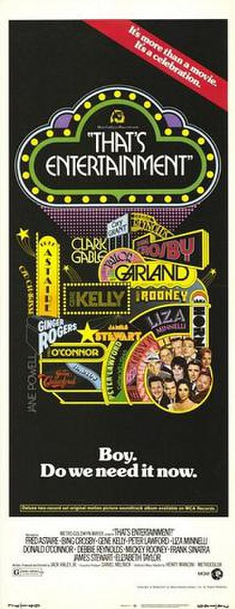 That's Entertainment! - Theatrical poster