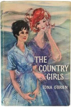 The Country Girls - First edition cover, showing Baba (left) and Cait (right)