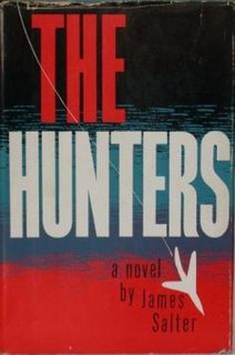 <i>The Hunters</i> (novel) novel by James Salter