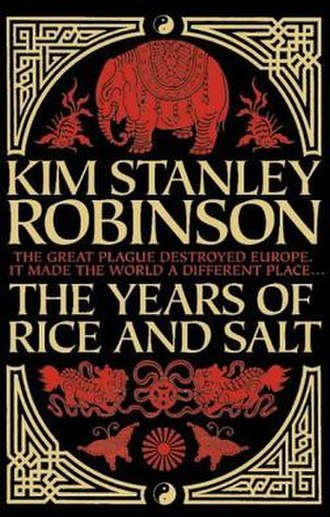 The Years of Rice and Salt - Cover of UK hardcover edition