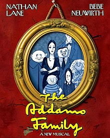 The Addams Family musical poster 2010 Nathan Lane Bebe Neuwirth.jpg