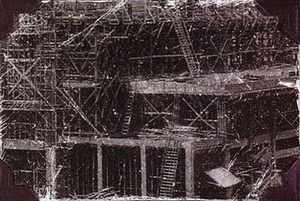 """Gravity Kills (album) - """"Picturing The Bomb"""" Image or drawing of a destroyed industry or building"""