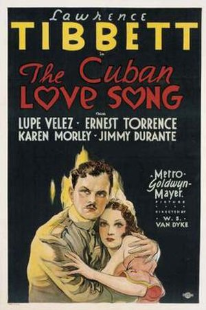 The Cuban Love Song - Theatrical release poster