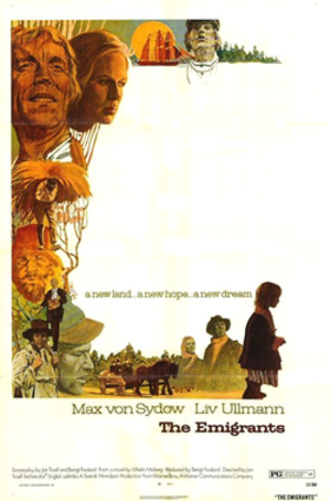 The Emigrants (film) - Image: The Emigrants poster