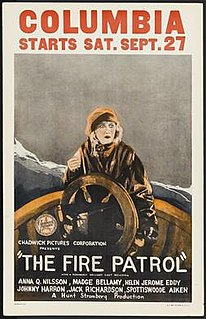 <i>The Fire Patrol</i> 1924 film by Hunt Stromberg