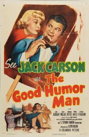 The Good Humor Man (1950 film) - Theatrical release poster