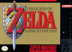 The Legend of Zelda: A Link to the Past - North American box art