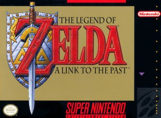 <i>The Legend of Zelda: A Link to the Past</i> 1991 action-adventure video game