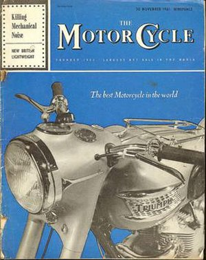 The Motor Cycle - The Motor Cycle, known as The Blue 'un