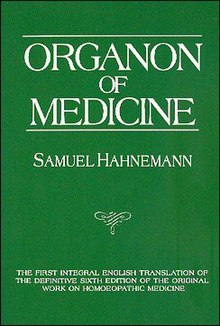 The Organon of the Healing Art - Wikipedia