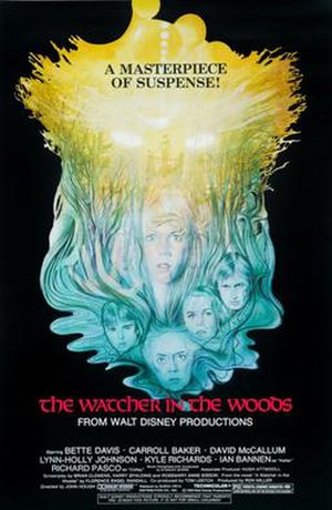 The Watcher in the Woods - Theatrical release poster
