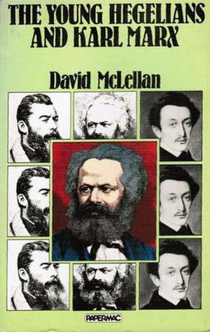 The Young Hegelians and Karl Marx - Cover of the 1980 Macmillan Press edition