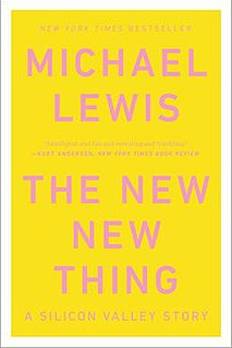 <i>The New New Thing</i> book by Michael Lewis