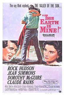 <i>This Earth Is Mine</i> (1959 film) 1959 film by Henry King