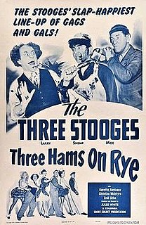 <i>Three Hams on Rye</i> 1950 film by Jules White
