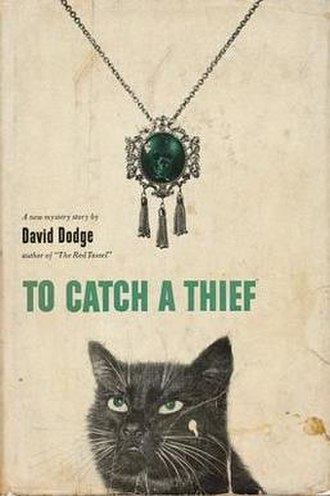 To Catch a Thief (novel) - First edition cover