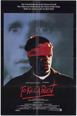 To Kill a Priest - Theatrical release poster