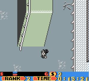 Tony Hawk's Pro Skater - Tony Hawk's Pro Skater on Game Boy Color.