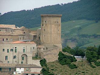 Tricarico - Norman tower and Monastery of Santa Chiara