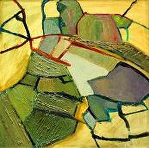 Magdalena Trzebiatowska - Glendalough - oil on canvas, 100cm x 100cm, 2004