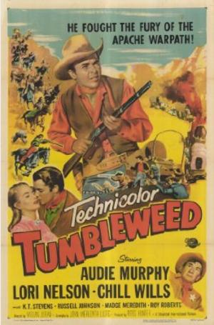 Tumbleweed (1953 film) - Film poster by Reynold Brown