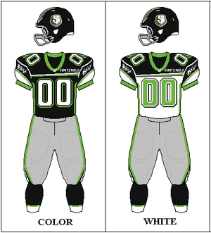 2009 New York Sentinels season - Image: UFL Uniform NY