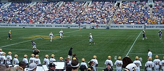 UMBC Retrievers - Retriever men's lacrosse competing against the University of Delaware in the 2007 NCAA Division I Men's Lacrosse Tournament.