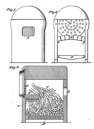 George S. Griggs - Image: US Patent 18,883 diagram
