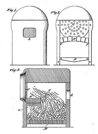 George S. Griggs - Image: US Patent 18,883 diagram