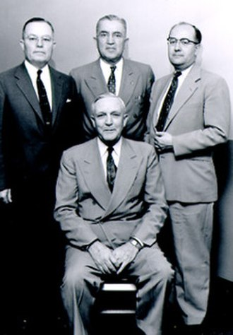 John Nicholas Udall - Nick Udall (standing left) and other Udall family judges.