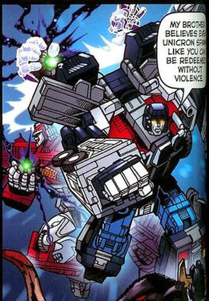 Ultra Magnus - Ultra Magnus in Fun Publications comics.