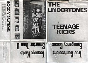 Teenage Kicks - Image: Undertones kicks front