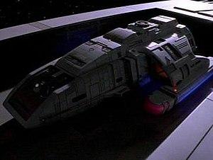 Shuttlecraft (Star Trek) - A Danube-class runabout