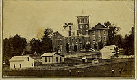 Valparaiso Male and Female College, circa 1870 (Photograph courtesy of the S. Shook Collection)