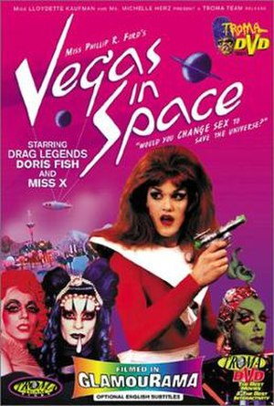 Vegas in Space - DVD cover of Vegas in Space