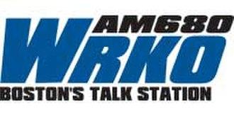 WRKO - former logo