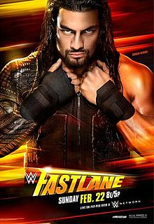 Fastlane (2015) 2015 WWE pay-per-view and WWE Network event