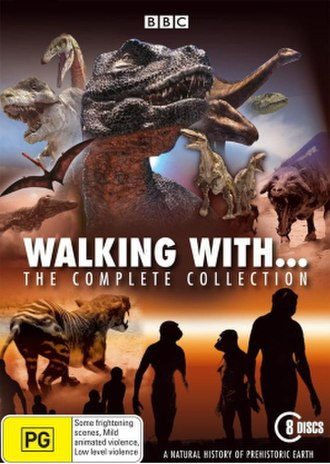 Walking with... - walking with series DVD cover
