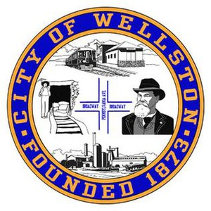Wellston, Ohio - Image: Wellstonseal