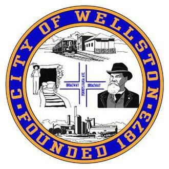 Wellston, Ohio - Image: Wellstonseal